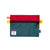 Front product shot of Topo Designs x Alternative Accessory Bags in Red/Teal
