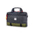 3/4 front product shot of Topo Designs x Alternative Commuter Briefcase in Olive/Black