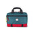Front product shot of Topo Designs x Alternative Commuter Briefcase in red/teal