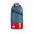 Front product shot of Topo Designs x Alternative Trip Pack in red/teal