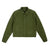 Front product shot of Topo Designs Women's Dirt Jacket in Olive green.