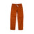 Front product shot of Topo Designs Women's Dirt Pants in Brick orange.