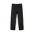 Front product shot of Topo Designs Women's Lightweight Tech Pants in Black.