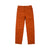 Front product shot of Topo Designs Women's Lightweight Tech Pants in Brick orange.