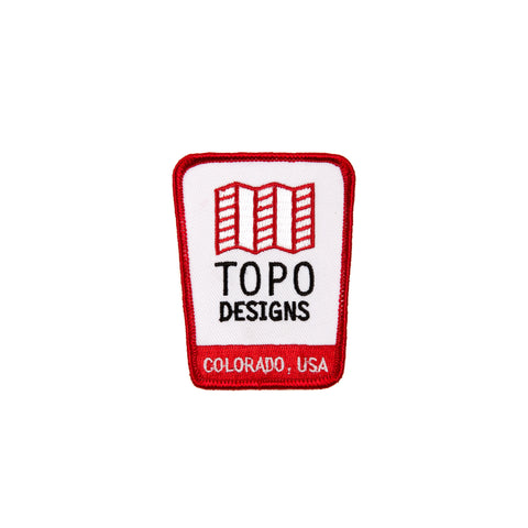 Topo Designs Logo Patch