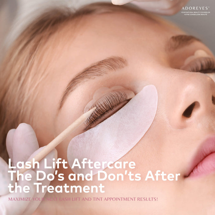 Lash Lift Aftercare - The Do's and Don'ts After the Treatment