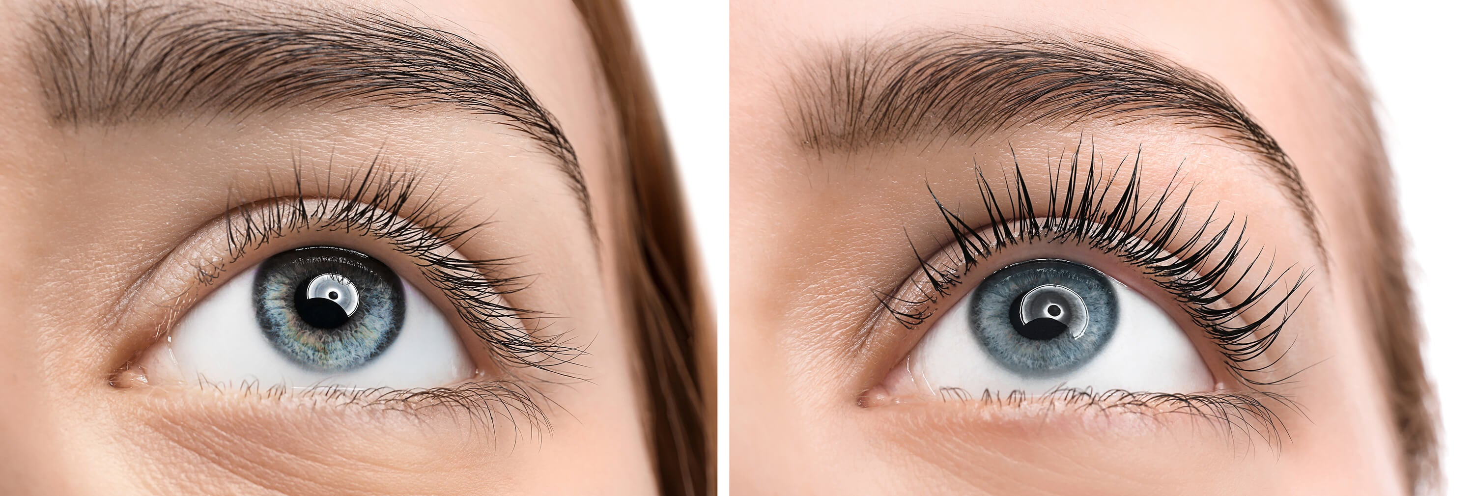 lash lift before after