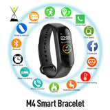 M4 Smart Sport Wristband & Heart Rate (FREE - JUST PAY SHIPPING)