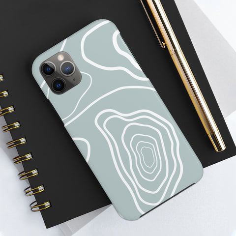 Grey Cozy Mood Phone Cases