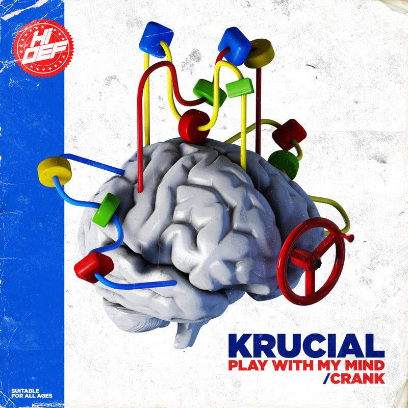 HDD 030 - Krucial - Play With My Mind / Crank
