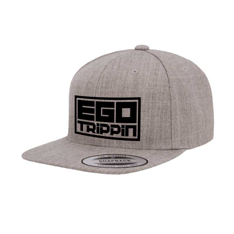 Ego Trippin Snapback (Heather Grey/Black)