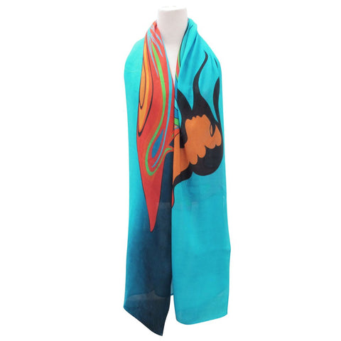 Mother Earth Artist Scarf By Oscardo Inc.