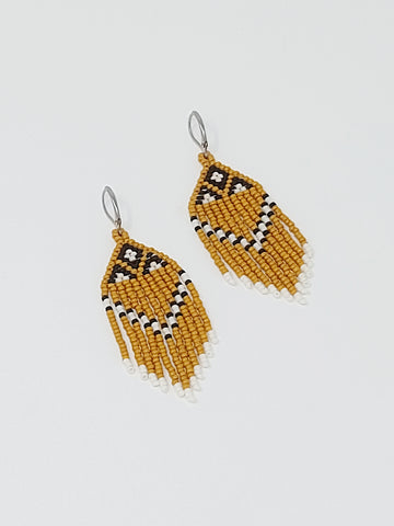 Honey Bee Danglers - Three Sisters By Emma Earrings