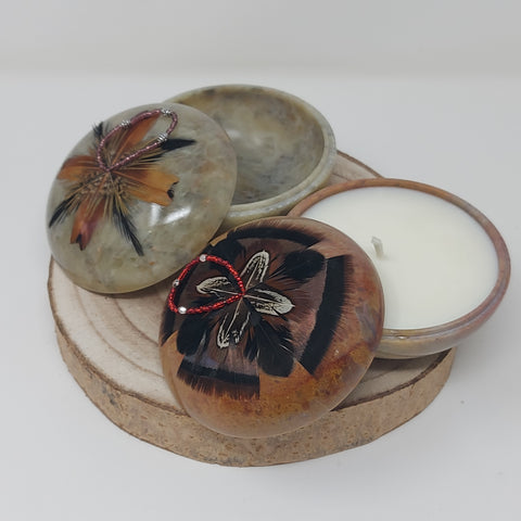 Soaring Eagle Medium Size Smudge Pots