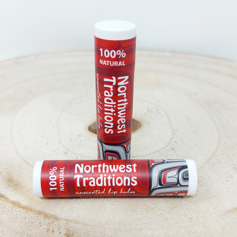 Northwest Traditions Unscented Lip Balm