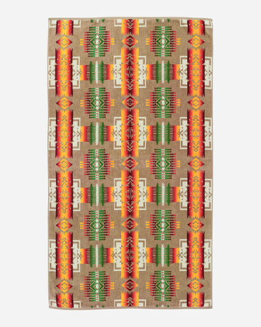 Chief Joseph Khaki Spa Towel Pendleton