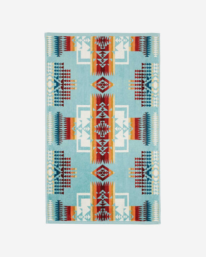 Chief Joseph Hand Towel Aqua Pendleton