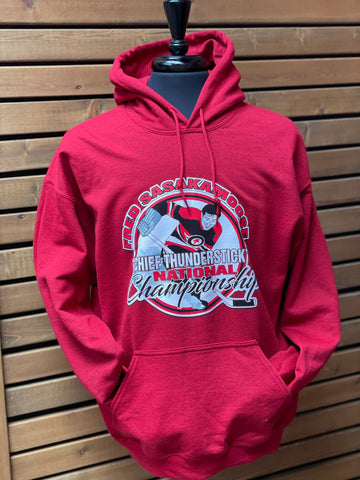"Fred Sasakamoose ""Chief Thunderstick"" National Championship Hoodie"