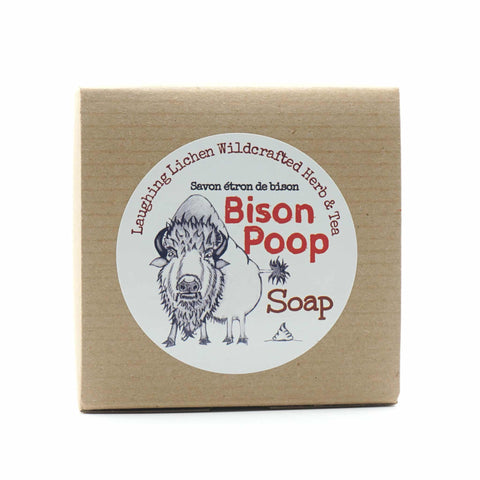 Laughing Lichen Bison Poop Soap