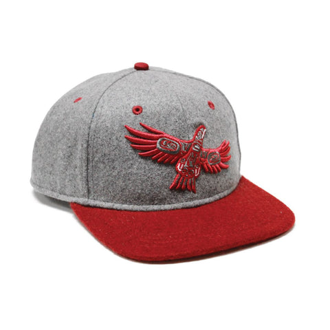Native Northwest Soaring Eagle Snap Back Hat