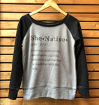 SheNative Definition Sweatshirt