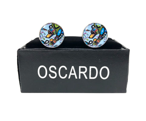 Bear Cufflinks By Oscardo Inc.