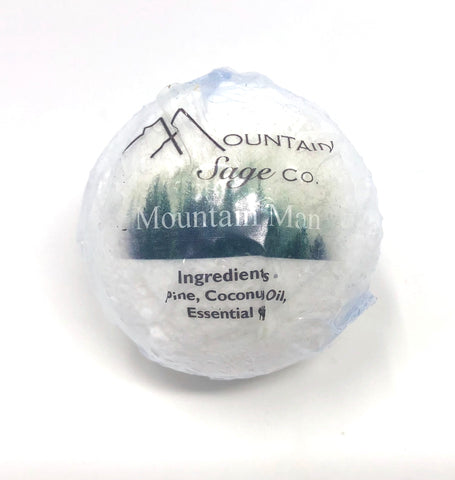 Traditional Native Medicinal Bath Bomb By Mountain Sage Co.