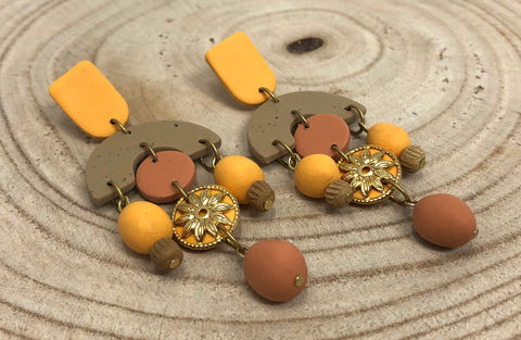 Clay Dangles By K Eleven Designs