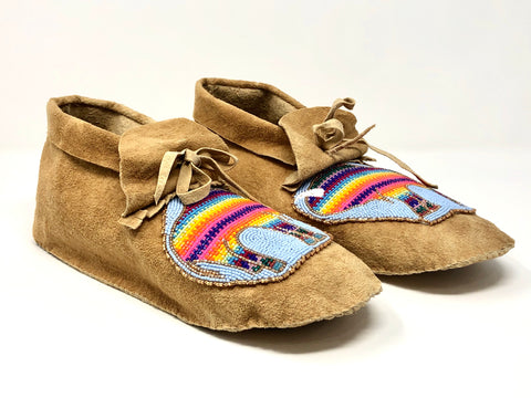 Hand Made Beaded Moccasins By Connie Dreaver