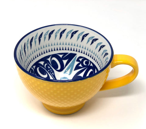 Porcelain Art Mug By Native North West
