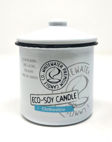 Soy Candle Enamelwear By WhiteWater Premium Candle Co.