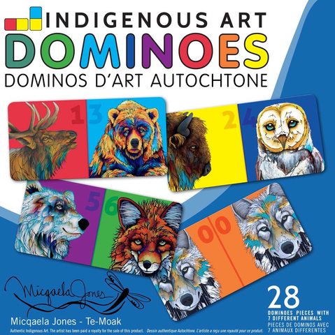 CAP Indigenous Art Dominoes
