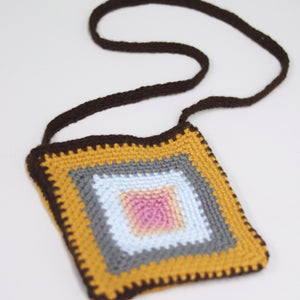 """Floral Crochet Purse"" by Kathleen Honeycutt"