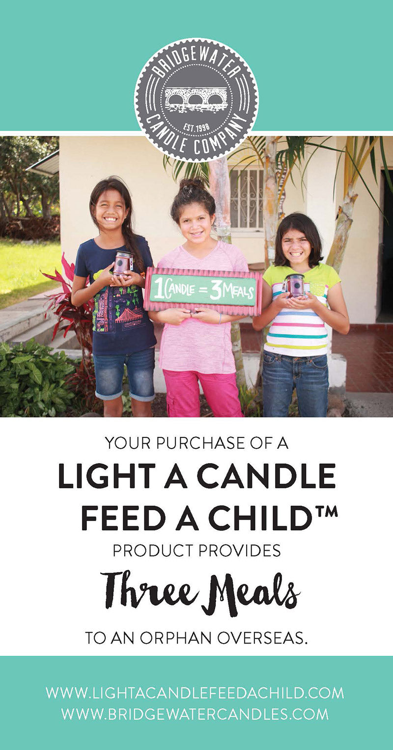 Light a Candle Feed a Child Poster