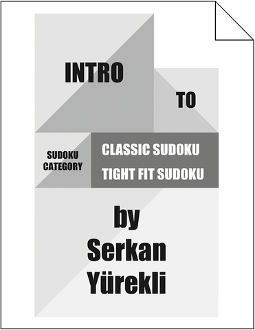 Intro to GMPuzzles: Sudoku and Tight Fit Sudoku