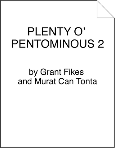 Plenty o' Pentominous 2