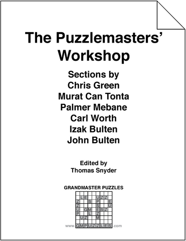 The Puzzlemasters' Workshop
