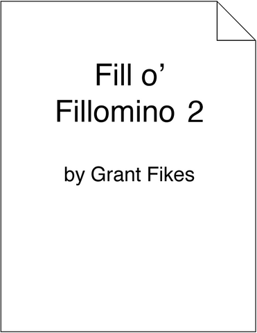 Fill o' Fillomino 2