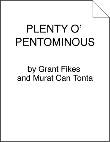 Plenty o' Pentominous