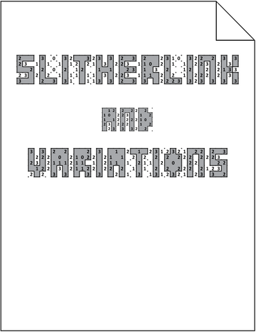 Slitherlink and Variations
