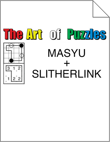 The Art of Puzzles: Masyu and Slitherlink