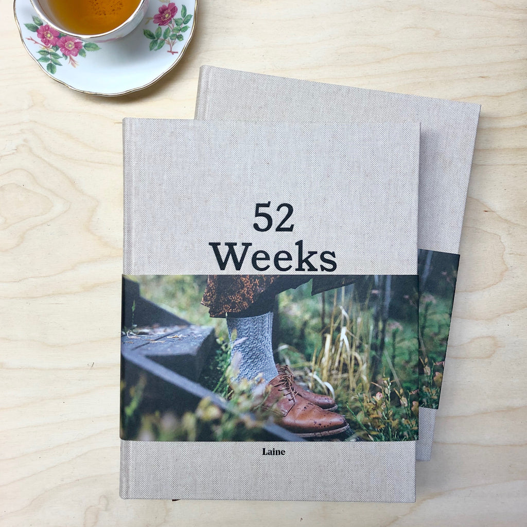 52 Weeks of Socks, Anglais (Preorder) - Laine
