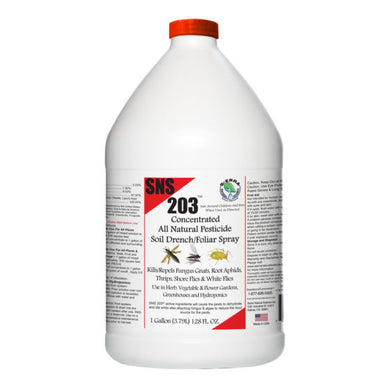 SNS 203 (Root Drench Pesticide Concentrate)-1 gallon