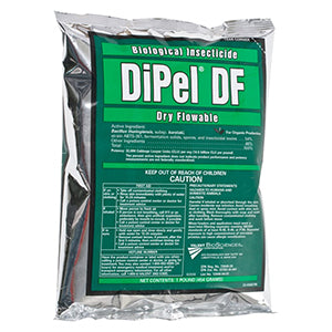 DiPel DF (Biological Insecticide Dry Flowable) - 1lb Bag