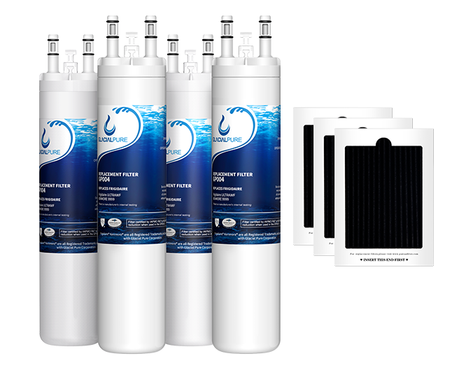 GlacialPure 4Pk ULTAWF,PS2364646, PureSource,  46-9999 with Air filter