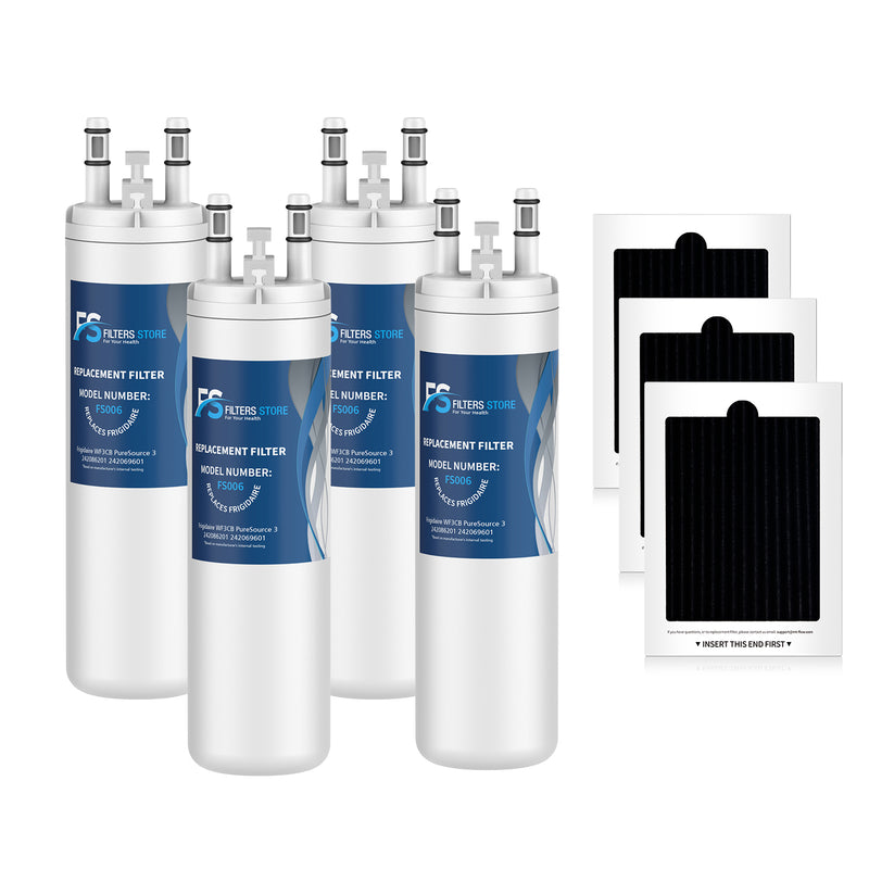 WF3CB, PureSource 3, FFHS2611LWF Water Filters with Air filter , Filters Store, 4pk