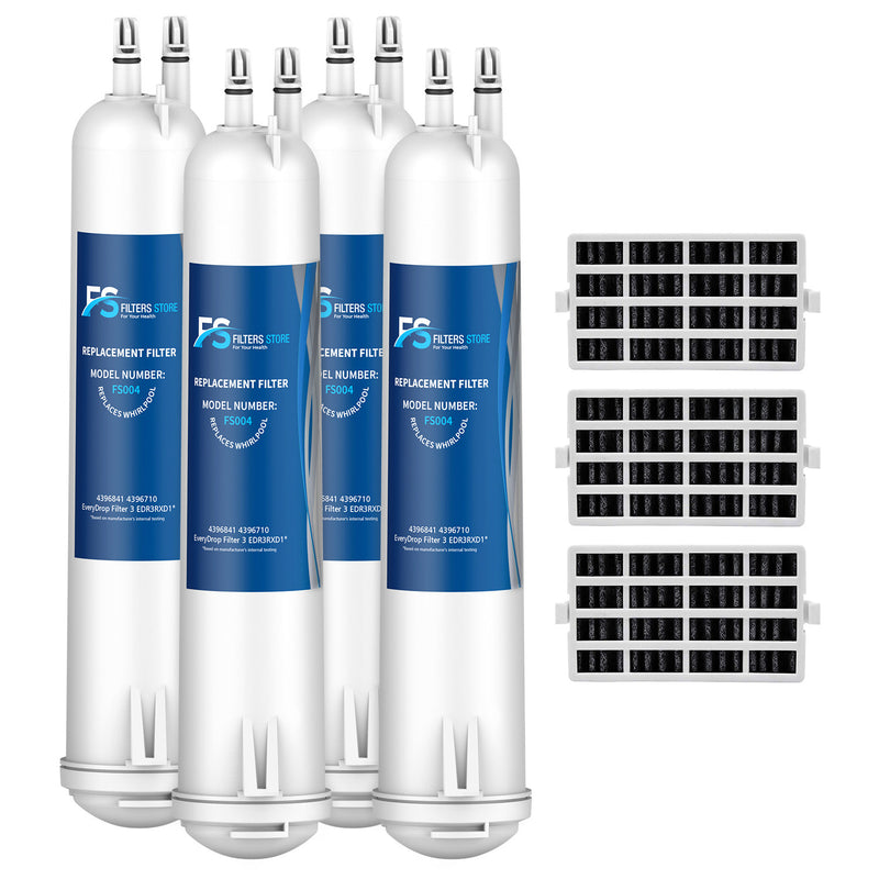 FS 4pk Filter 3, 4396841, EDR3RXD1, 46-9083 with Air1 filter