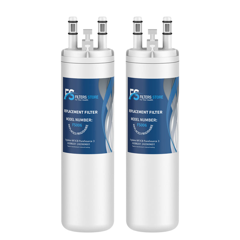 FS Replacement for PureSource WF3CB, PureSource 3, AP4567491 Refrigerator Water Filter, 2 Packs