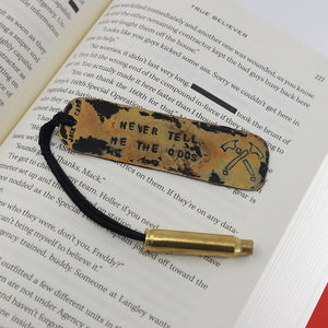 """NEVER TELL ME THE ODDS"" Bookmark"