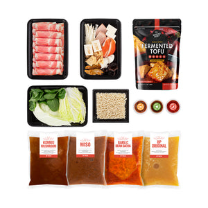 Hot Pot Kit: BP Classic Broths Combo